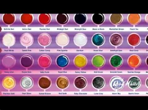 color con i espanol robynails 174 aplicaci 243 n gel color sobre la u 241 a