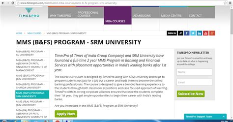 Srm Mba Placements by Suga Educational Services Suga Educational Services And