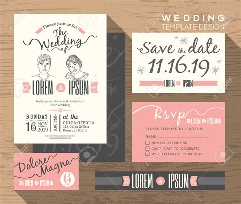 wedding invite postcard style wedding invitation design theruntime