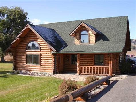 kalispell montana log homes building contractors