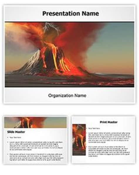 volcano powerpoint template 1000 images about free powerpoint ppt templates on