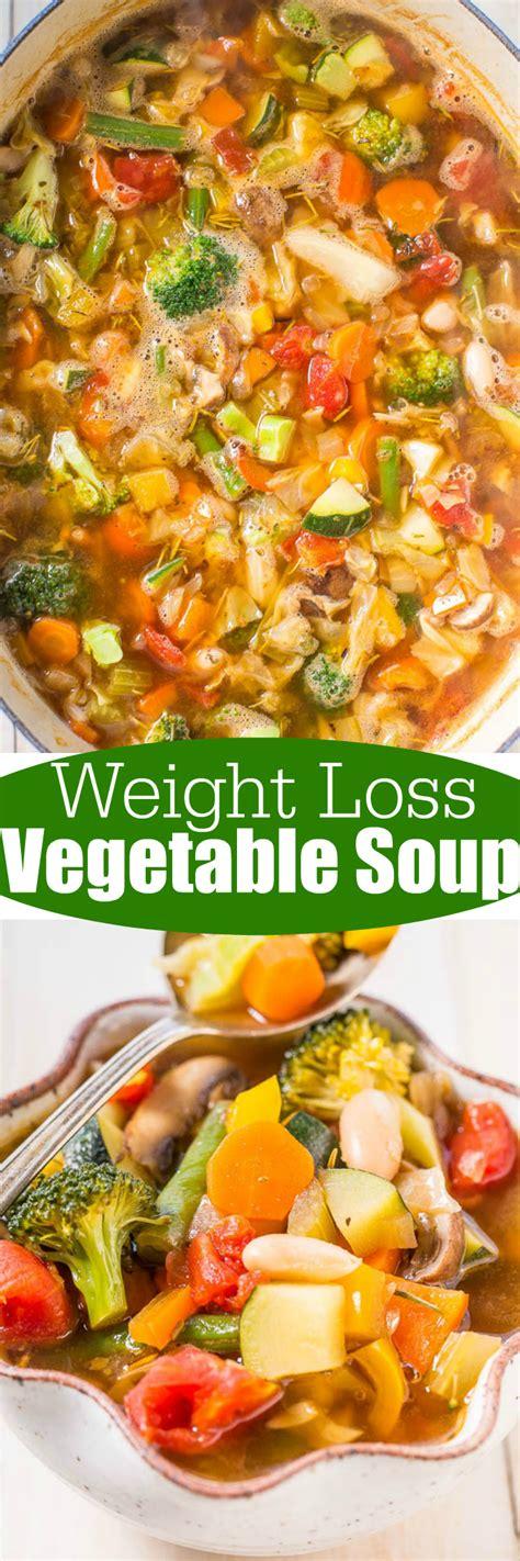 weight loss vegetables weight loss vegetable soup diet recipe