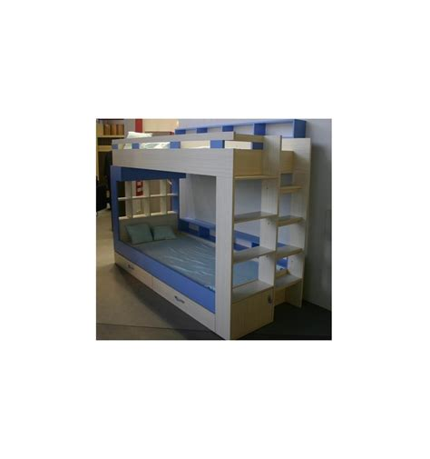 blue bunk bed daxi bunk beds blue