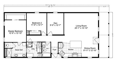 siesta key ii tl28562c manufactured home floor plan or
