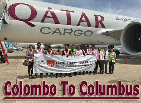 colombo to columbus