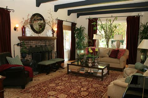 how to style your living room living room spanish style design homesfeed