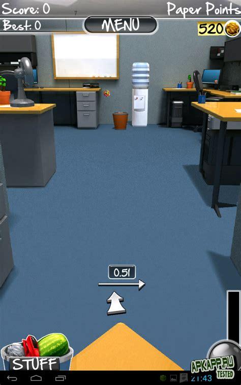 paper toss 2 apk paper toss 2 0 v1 0 2 android скачать