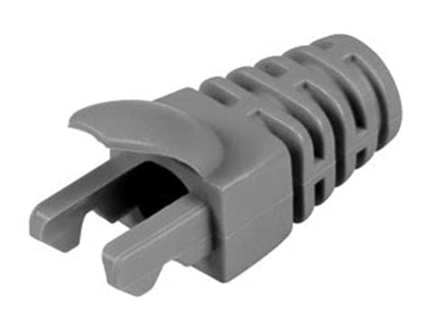 Rj45 Boot Cover Merah 330 1463 low profile slim boot cover cat 6a 7 6 strain relief protect rj45 7mm