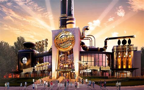 Willy Wonka The Chocolate Factory universal building real willy wonka s chocolate