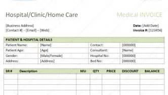 pharmacy bill template sle bill format in excel pdf word