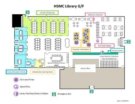 library floor plan floor plan library hang seng management college