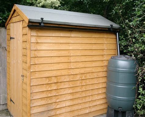 Guttering For Shed s rainsaver guttering kit for garden buildings