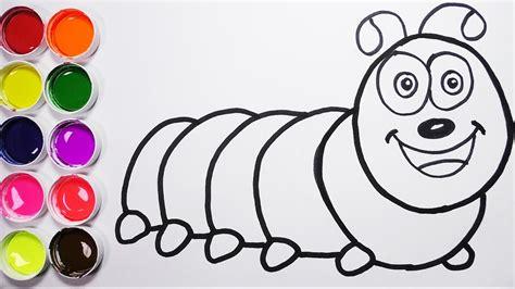 imagenes niños dibujos como dibujar una larva de arco iris dibujos para ni 241 os