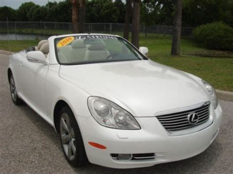 lexus 100 000 mile service find used 2010 lexus sc 430 certified 3 year 100 000 mile