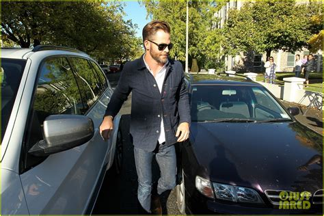Dui Arrest Records Ct Chris Pine Attends Court Appearance For Dui Arrest In New
