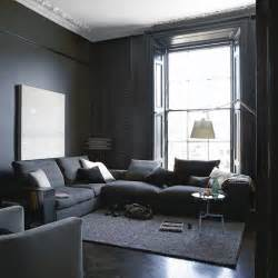 grey livingroom grey paint living room home garden design