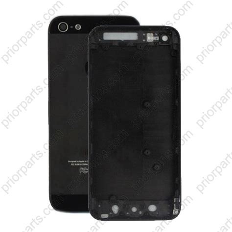 iphone 5 housing for iphone 5 back housing cover middle frame black