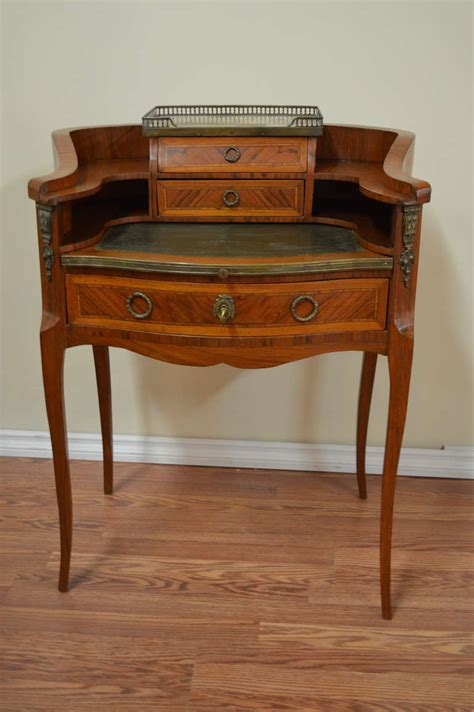 Louis Xv Style Inlay Wood Butler S Desk At 1stdibs Butler Desk
