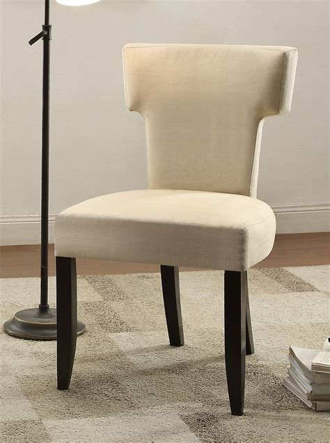 Accent Chair Set Of 2 Alta Beige Fabric Accent Chair Set Of 2 From Homelegance 1249f1s Coleman Furniture