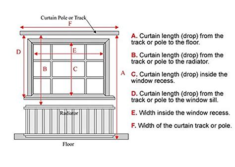 how to measure curtain rod width measuring for curtains