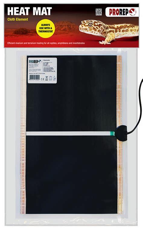 Tarantula Heat Mat by Prorep Cloth Element Heat Mat 17x11 Quot 20w