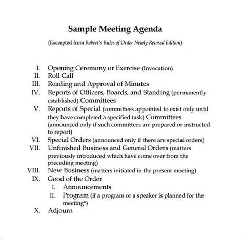 Board Meeting Agenda Sle Beneficialholdings Info Board Meeting Motion Template