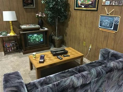 80s living room 80s living room with an intellivision at the national