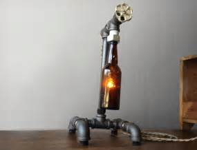 Recycled steel pipes unusual furniture and home accessories