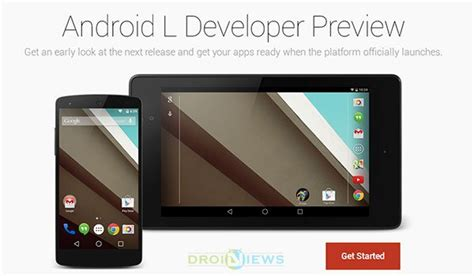 install android l developer preview on nexus 5 7