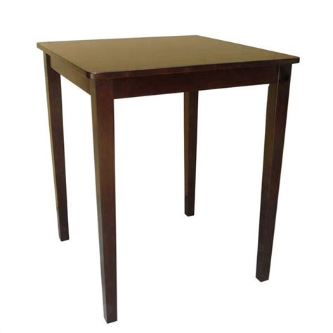 Shaker Dining Table Shaker Counter Height Dining Table In Rich Mocha T15 3030gs