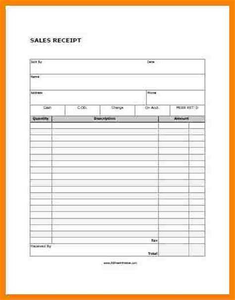 blank receipt template pdf 6 blank receipt template pdf hr cover letter