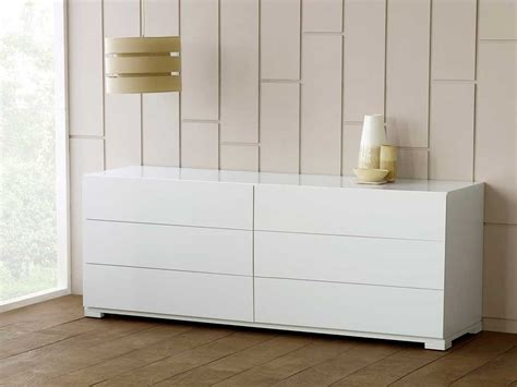 bedroom dresser white contemporary bedroom furniture six 6 drawer chest