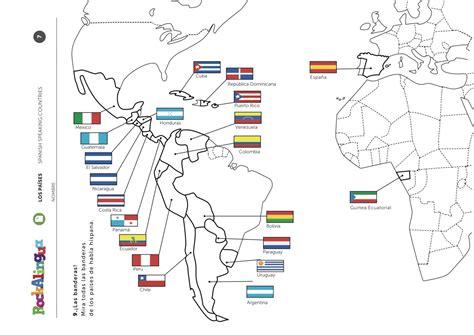 Speaking Countries Worksheet speaking countries worksheet rockalingua