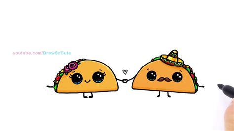 imagenes de tacos kawaii cute taco drawings www imgkid com the image kid has it
