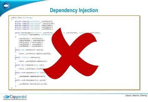 dependency injection setter vs constructor dependency injection vs service locator best practice