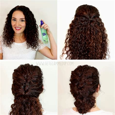 Easy Hairstyles For Wavy Hair by Easy Hairstyles For Curly Hair Hairstyles Ideas