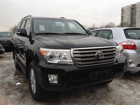 Toyota Land Cruiser 2012 Used 2012 Toyota Land Cruiser Photos 4600cc Gasoline