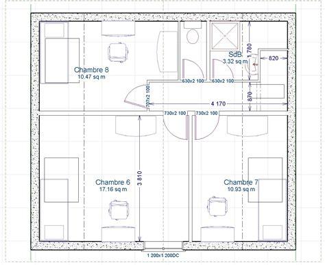Superbe Plan Salle De Bain Wc #1: etage2-plan.jpg