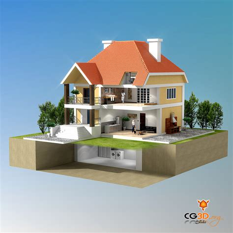architecture maison 3d infographiste 3d architecture gr 233 gory chevalier