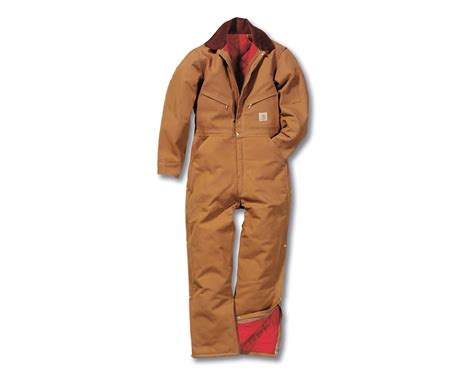 Carhartt Quilt Lined Duck Coveralls by Carhartt Duck Coverall Quilt Lined X01