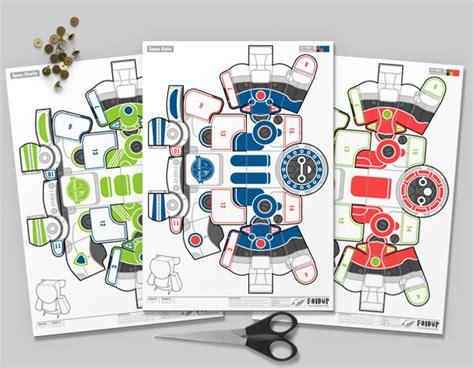 upc space robots fold  toys