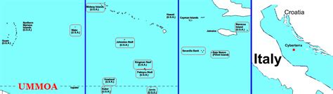united states map with us islands united states minor outlying islands fifth world wiki