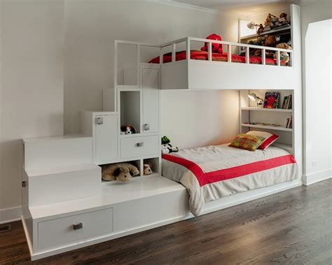 Decoist Bunk Beds Choosing The Right Bunk Beds With Stairs For Your Children