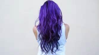 purple blue hair color how i dye my hair purple blue diy