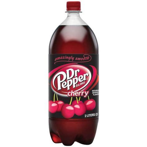 Soda L by Dr Pepper Cherry Soda 2 L Beverages Walmart