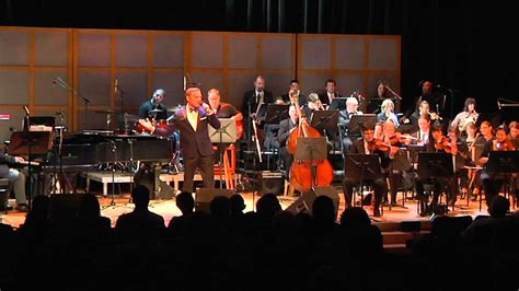 now you re singing with a swing steven tulman singing with an orchestra at the glenn gould