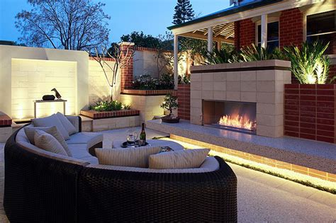 ethanol outdoor fireplace inspiring outdoor fireplace ideas corner