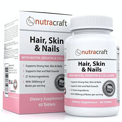 supplement 27 for hair and skin 1 biotin hair growth vitamins supplement with 5000mcg of