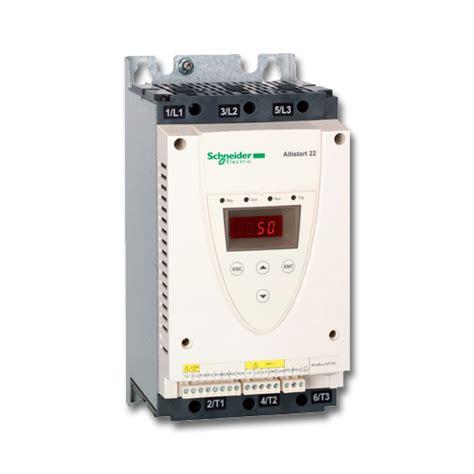 Altistart 22 Soft Starter Ats22d88q altistart 22 arrancador progresivo para bombas y ventiladores de 4 a 400 kw
