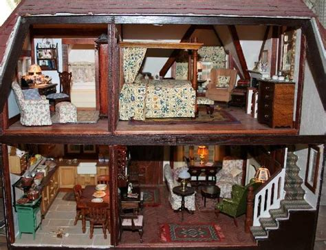 decorate doll house the tudor bedchamber dollhouse decorating